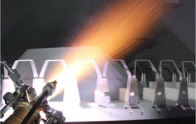 Historical development and characteristics of metal thermal spraying technology